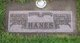"Profile photo:  Robert Clyde ""Bank"" Hanes"