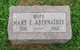 Mary E. <I>Huffman</I> Abernathey