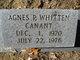 Profile photo:  Agnes P. <I>Whitten</I> Canant