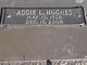 Addie L <I>Lewis</I> Hughes