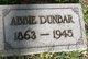 Profile photo:  Abbie Ann <I>Baldwin</I> Dunbar