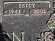 Betty <I>Lewis</I> Hamilton