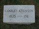 Profile photo:  Charles Atkinson