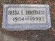 """Fredericka Eleanor """"Freda"""" <I>Vincent</I> Denstaedt"""