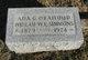 Profile photo:  Ada G. <I>Orahood</I> Simmons
