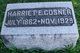 Harriet E Cosner
