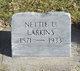 """Anetta U. """"Nettie"""" Larkins"""