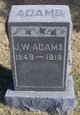 Profile photo:  John Wesley Adams