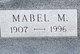Mabel M. <I>Shawen</I> Bell