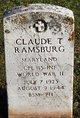 Claude Thomas Ramsburg
