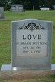 Furman <I>Poston</I> Love