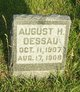 Profile photo:  August H. Dessau