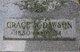 Grace W <I>Sisson</I> Dawson