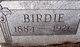 "Profile photo:  Mary C ""Birdie"" <I>Bleacher</I> Hayes"