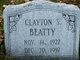 Clayton s Beatty