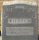 Profile photo:  Alice Virginia <I>Mesimer</I> Wilhelm