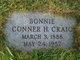 "Profile photo:  Conner Halbert ""Bonnie"" Craig"