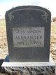 John Mindon Alexander
