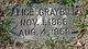 Alice Lydia <I>Graybill</I> Eller