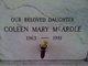 Profile photo:  Coleen Mary McArdle