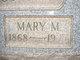 "Mary May ""Mayme"" <I>Blair</I> Welshons"