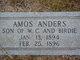 """Profile photo:  Ammon Andrew """"Amos"""" Anders"""
