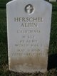 Herschel Albin