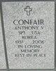 Profile photo:  Anthony V Confair
