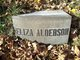 "Profile photo:  Susan ""Eliza"" <I>Patch</I> Alderson"