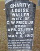 Charity Louise <I>Waller</I> Price