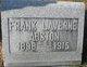 Frank Laverne Abston