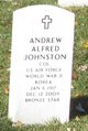Profile photo:  Andrew Alfred Johnston