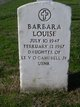 Barbara Louise Campbell