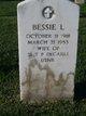 Bessie L <I>Fox</I> DeCarli