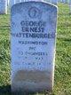 George Ernest Wattenburger