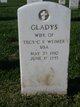Gladys Freda <I>Bothwell</I> Weimer