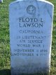 Floyd L Lawson