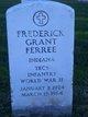 Frederick Grant Ferree