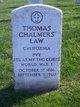 Thomas Chalmers Law