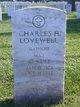 Maj Charles Hubert Lovewell