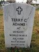 Profile photo:  Terry C Adams