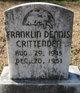 Franklin Dennis Crittenden