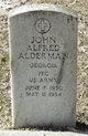 Profile photo:  John Alfred Alderman