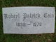 Robert Patrick Cain Sr.