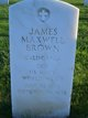 James Maxwell Brown