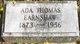 Profile photo:  Ada <I>Thomas</I> Earnshaw