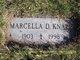 Marcella D. Knapp