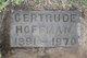 Gertrude <I>McKean</I> Hoffman