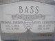 Thomas Jordan Bass