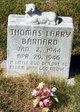 Profile photo:  Thomas Larry Barnard